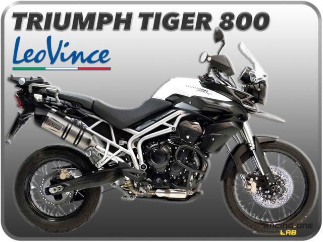 TUBO DE ESCAPE LEOVINCE LV ONE EVO INOXIDABLE TRIUMPH TIGER 800 / TIGER 800 XC