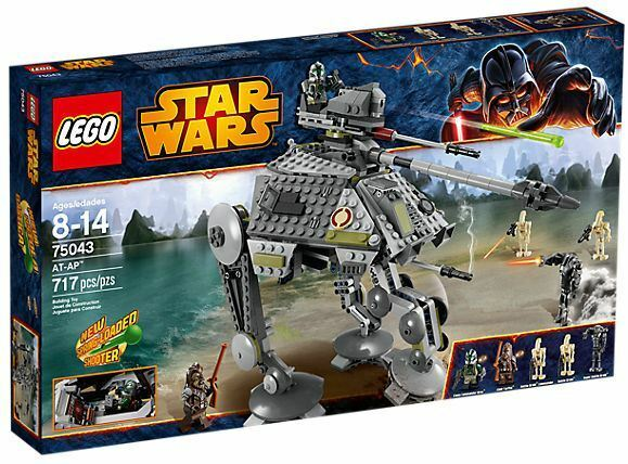 LEGO estrella guerras  75043 AT-AP SET SEALED NIB 717 PIECES CLONE COMuomoDER TARFFUL  acquista online