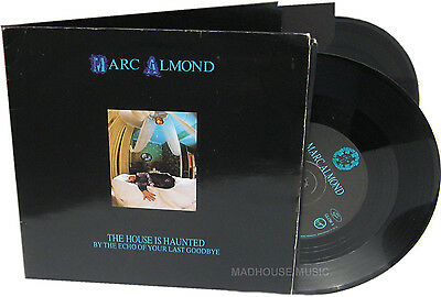 "SOFT CELL 7"" x 2 Marc ALMOND The House Is Haunted DOUBLE Pack Vinyl Unchain My"