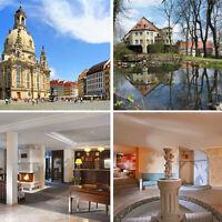 Dresden 3 Tage Kurzurlaub für Zwei im First Class 4* Hotel Villa Weltemühle
