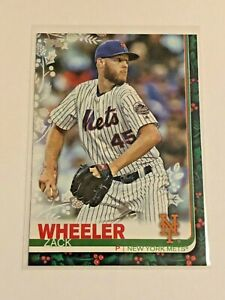 2019-Topps-Walmart-Holiday-Baseball-Zack-Wheeler-New-York-Mets