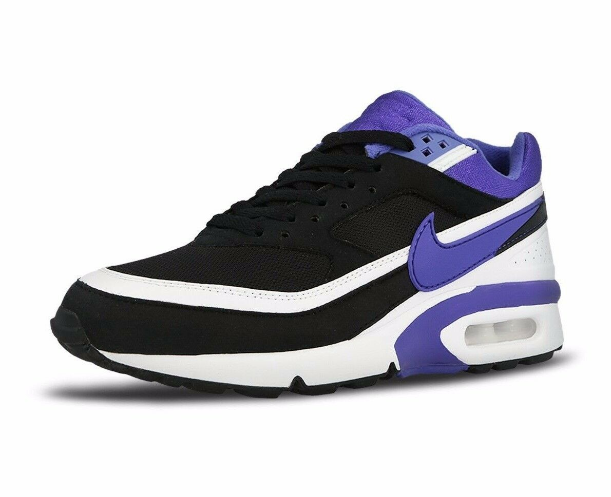 0770dabb5b Nike Air Max BW OG Black Persian Violet White running training 819552-051  50%