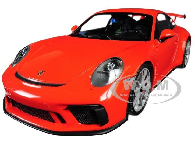 2017 PORSCHE 911 GT3 orange LTD 666 PCS 1  18 DIESbil AV MINISTAMPS 110067022