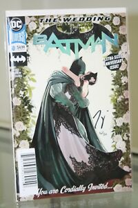 DC-COMICS-BATMAN-50-SIGNED-amp-NUMBERED-BY-WRITER-TOM-KING