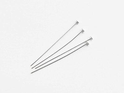 4 Nietstifte Stift mit Platte 30 x 0,5 mm 925 Silber Schmuck basteln DIY Schmuck   eBay