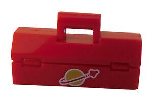 Lego-Werkzeugkasten-in-rot-Classic-Space-Aufdruck-Kasten-Box-fuer-Minifigur-Neu