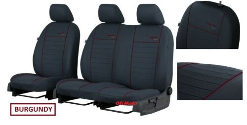 Tailored Van Fabric Seat Covers 2+1 VW Crafter facelift 2017 2018 2019 2020