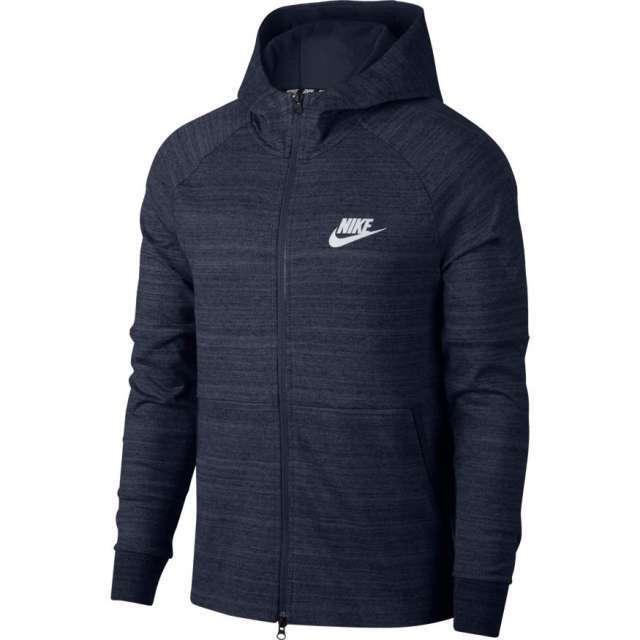 Nike Herren Sportkleidung Advance 15 Kapuzenpullover Kapuzenpullover Kapuzenpullover mit Reißverschluss S BLAU c98429