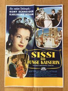 Sissi-Die-junge-Kaiserin-A2-Kinoplakat-56-Romy-Schneider-Karlheinz-Boehm