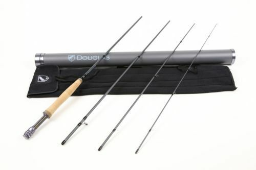 NEW DOUGLAS SKY 4904 9'  4 WEIGHT FLY ROD WITH TUBE WARRANTY FREE 100 FLY LINE