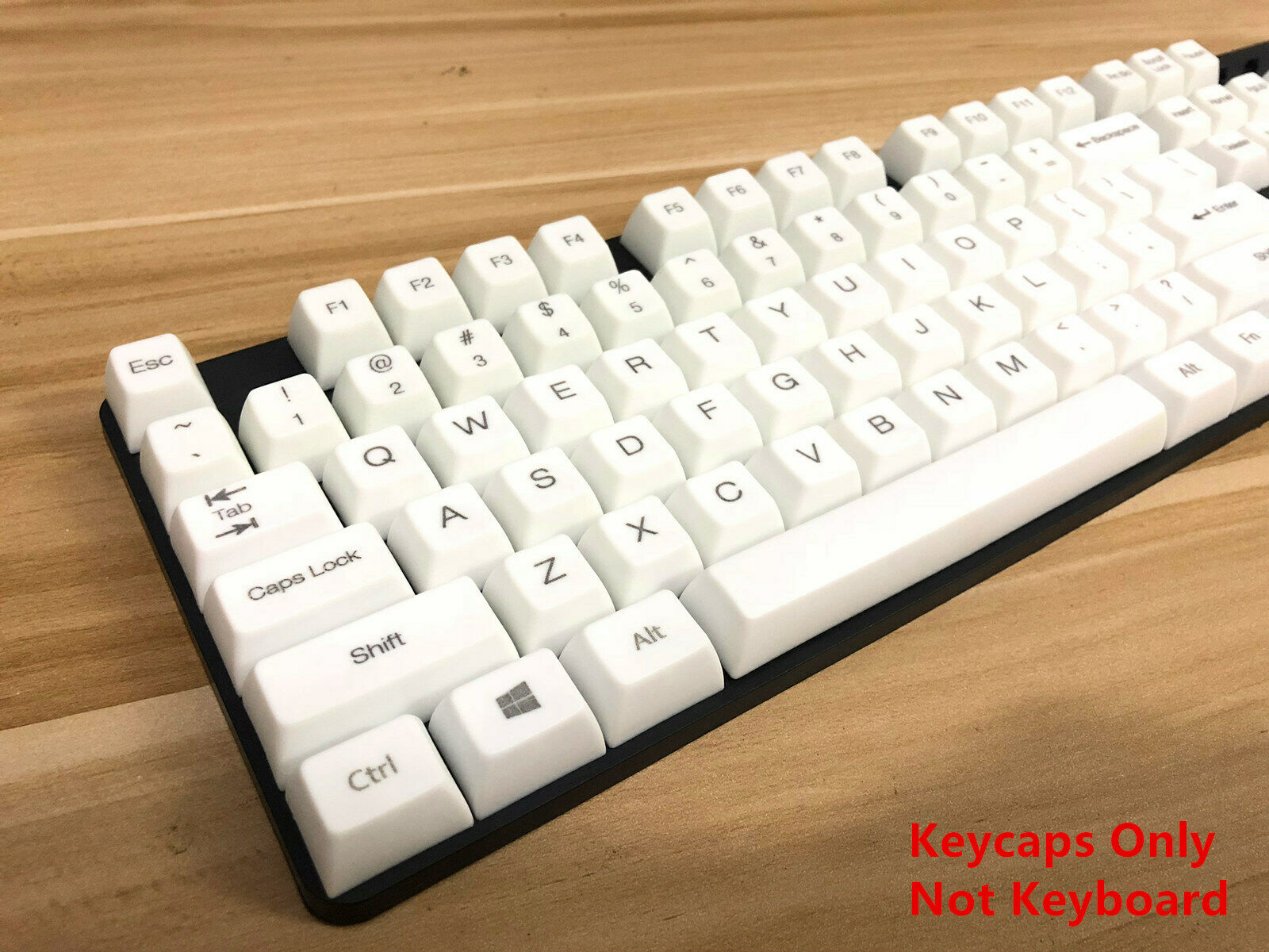 Axis Body : XDA Profile, Color : 104 Keys no Printed Keyboard keycaps 1 Set of 60//87//104 Key Obsidian Style PBT Dye Sublimation Keycap Mechanical Keyboard MX Key Cap