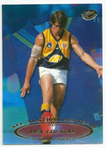Ben COUSINS West Coast ++ AA3 1999 Select All Australian