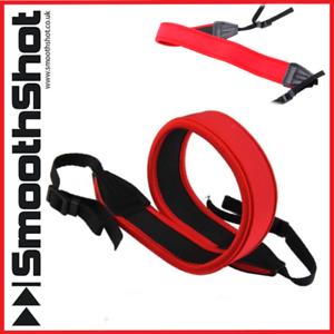 CAMERA-STRAP-NECK-SHOULDER-ANTI-SLIP-RED-STRAP-CANON-NIKON-CAMERAS-BINOCULARS