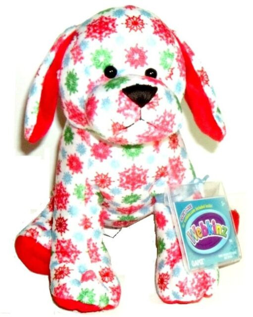 Webkinz Snowflake Pup New with Code /& Tag Brand New Super Great for Winter Gift