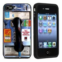 Pay Phone For Apple Iphone 4 Or 4s Case / Cover All Carriers