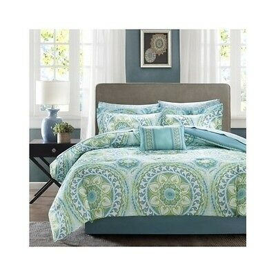 Bedroom Comforter Set 9Pc Bed In A Bag With Sheets Guest Suite Master Bedding