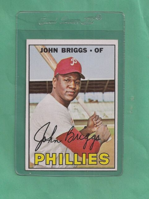 1967 Topps Philadelphia Phillies John Briggs # 268 NM-MT Low Pop!!