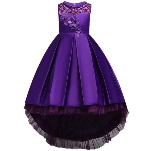 Vestidos de fiesta de niña ropa de moda elegante para fiesta de no Ta