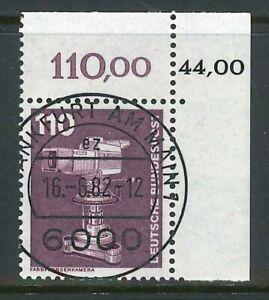 BRD-Mi-Nr-1134-KBWZ-Bogenecke-zentrisch-gestempelt-Ersttag