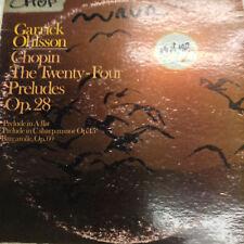 Garrick Ohlsson Chopin' Record DJ Version S137087 33RPM 031617RR