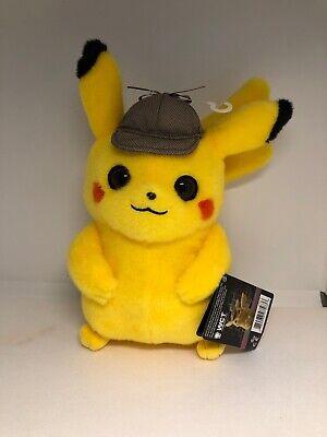 realistic detective pikachu plush
