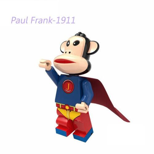 Paul Frank happy monkey Mini Doll Building Blocks Figures children Learning toys