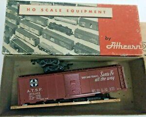 HO-scale-Athearn-Santa-Fe-Boxcar-Santa-Fe-all-the-way-ATSF-275163