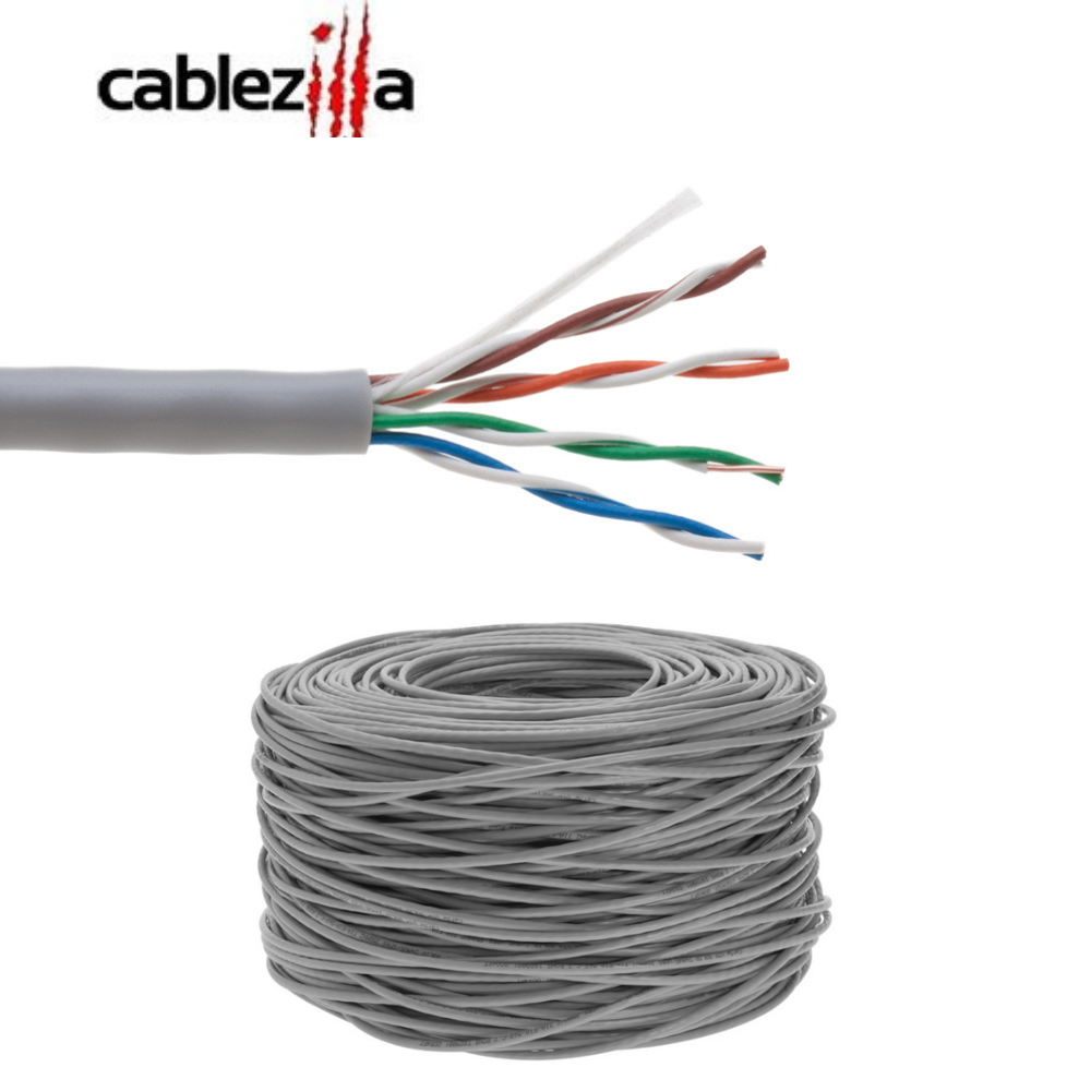 25/' Foot Grey Molded Cat5e Network Cable Gold Plated RJ45 Cat 5e Ethernet 26AWG