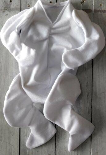 """Bent braccia e gambe si adatta 16/"""" Kit di testa nuova progettazione RINATO Doe Suede coccolare corpo"""