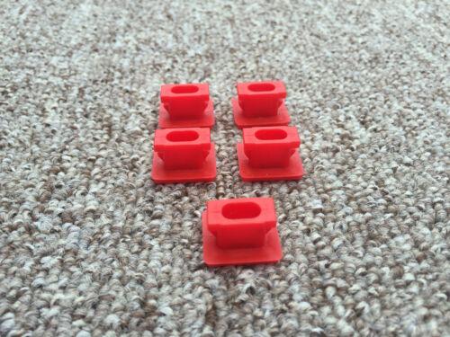 Tableau de bord dash trim strip inserts clips oeillets set de 5 fix bmw