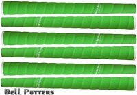 Six (6) Tacki-mac Tour Pro Plus Midsize Neon Green Golf Grips-mens/men's Grip