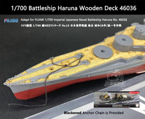 FUJIMI 1//700 Battleship Haruna 榛名 昭和19年 Wooden Deck 46036