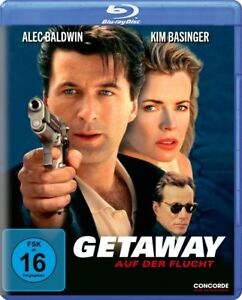 THE-GETAWAY-Blu-ray-1994-German-Import-Alec-Baldwin-Kim-Basinger-Region-Free
