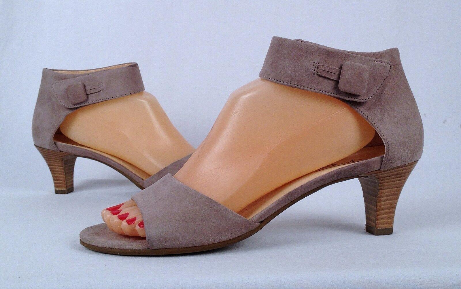 Paul Green- 'Aurora' Sandal -Sand Suede-Size US 9.5/ Aus 7  (03)