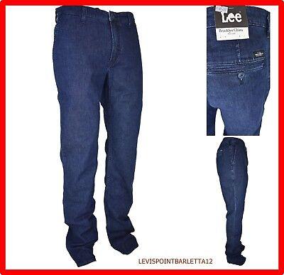Discreto Jeans Pantaloni Lee Da Uomo Tasca America A Vita Alta Blu Denim Elasticizzato 46 Famoso Per Materiali Selezionati, Disegni Innovativi, Colori Deliziosi E Lavorazione Squisita