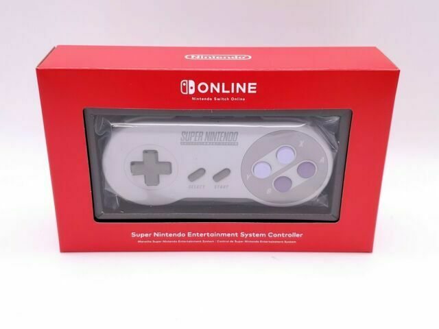 Nintendo Switch Online - Super Nintendo SNES Controller for Switch ~ Brand New!