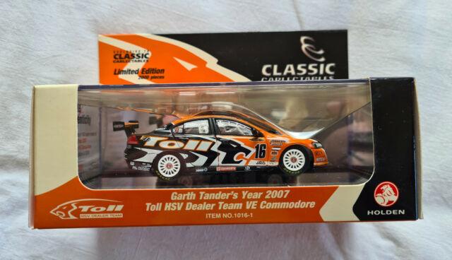 Garth Tander 2007 Toll HSV Dealer Team Holden VE Commodore V8 Supercar 1:43