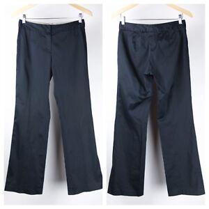Elie-Tahari-Womens-Dress-Pants-Size-2-4-Navy-Blue-AN6