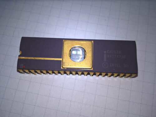 original 8741 to 8755 microcontroiller family DIP40 famous manuf
