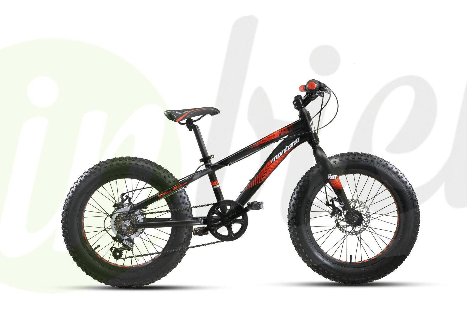 Bicicletta Montana Vkt FAT BIKE 20  TY-21 6V Revo Disc