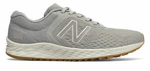 New-Balance-Women-039-s-Fresh-Foam-Arishi-V2-Shoes-Grey-With-Pink-amp-Off-White