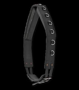 Waldhausen-Longiergurt-mit-Ringen-Leder-schwarz-Doppellonge-robust-und-stabil