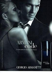 118 2010 Advertising Sur Code Armani Giorgio Homme Parfum Détails Publicité zMSUVqp