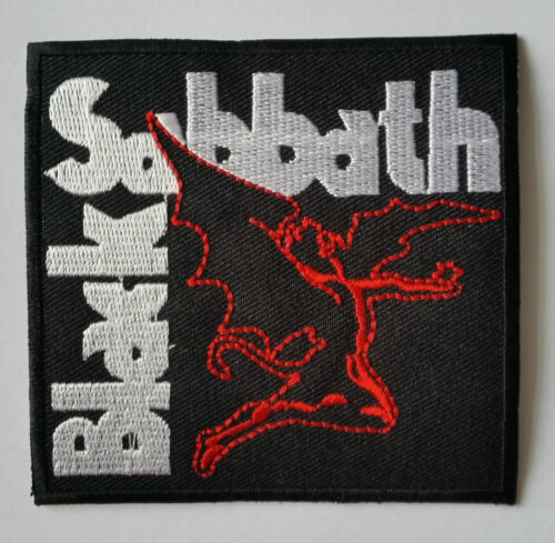 PUNK ROCK HEAVY METAL MUSIC SEW ON IRON ON PATCH: DEMON a BLACK SABBATH