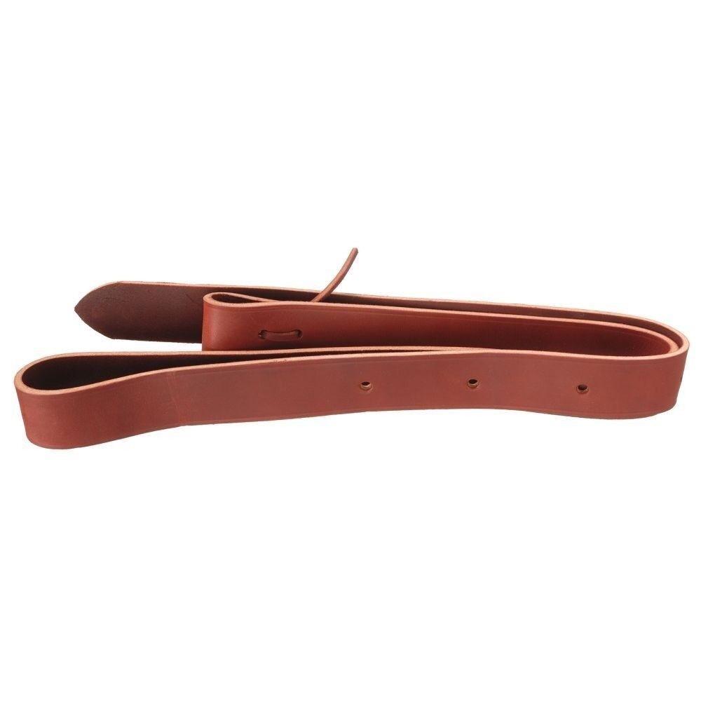 Tough-1  Royal King Premium Tie Strap with Holes 1 3 4  x 6ft Latigo  clearance up to 70%