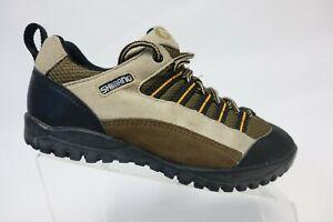 SHIMANO-Brown-Sz-7-5-41-EU-Men-Suede-Cycling-Shoes
