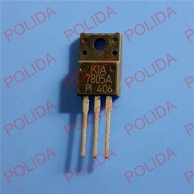5 x KIA7805API THREE TERMINAL POSITIVE VOLTAGE REGULATORS 7805A KIA7805A TO-220F