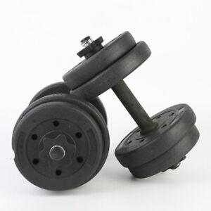 Schwarz Kurzhanteln Hantel Set Hanteln Gewichte Hantelscheiben 2x5kg DHL