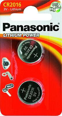 4x Panasonic Knopfzelle Lithium Cr2016 (2x 2er Blister) 3v Cr-2016el/2b