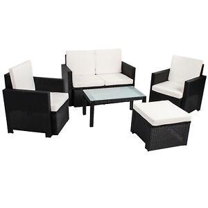 Gartenmoebel-Polyrattan-Lounge-Gartenset-Rattan-Sitzgruppe-Garnitur-Tisch-Samos